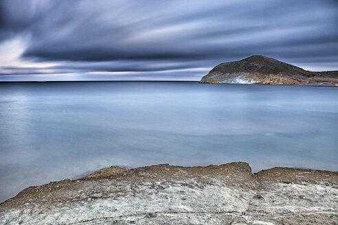 Spain, Almeria, rocky volcanic coastline of Cabo de Gata Natural Park - DSGF01355