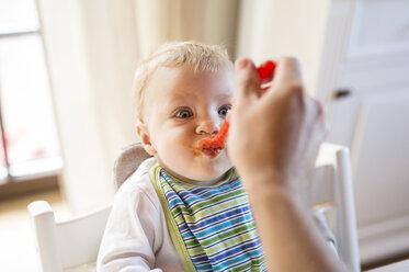 Baby boy being fed - HAPF01212