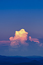 USA, Virginia, Blue Ridge Mountains at twilight - SMAF00616