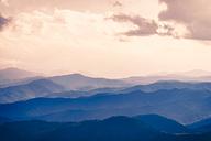 USA, Virginia, Blue Ridge Mountains at twilight - SMAF00619