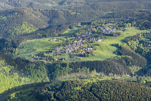 Germany, Gehlberg, aerial view of the village - HWOF00165