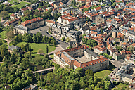 Germany, Weimar, aerial view of the old town with castle - HWOF00168