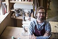 Craftsman working in wood work - ZEF11923