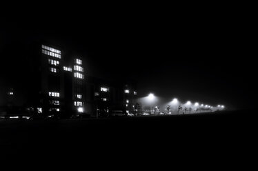 UK, Edinburgh, West Granton at night - SMA00655