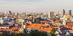 Slovakia, Bratislava, view to city center from above - WDF03833