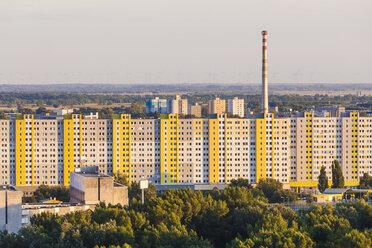 Slovakia, Bratislava, view to Petrzalka - WDF03836