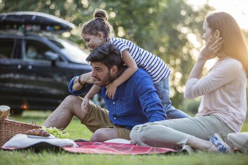 Happy having a picnic at road trip - WESTF22399