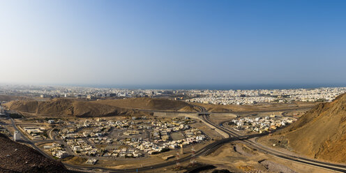 Oman, View over the city of Muscat - AMF05191