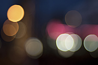 Bokeh lights at night - DHCF00016