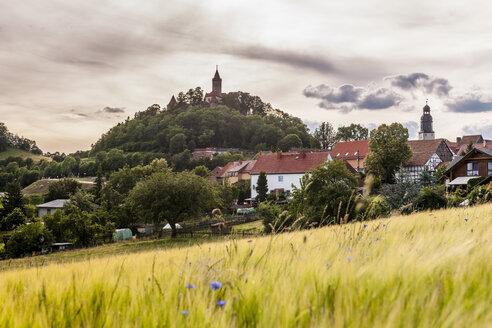 Germany, Thuringia, Seitenroda, Leuchtenburg Castle - EGB00158