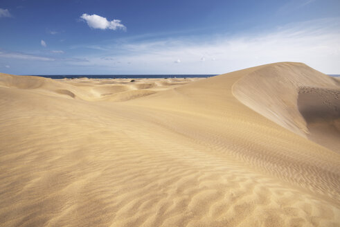 Spain, Canary Islands, Gran Canaria, sand dunes in Maspalomas - DHCF00026