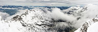 Germany, Bavaria, Allgaeu, Allgaeu Alps, winter onset - WGF01034