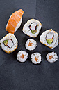 Variety of sushi - JUNF00757