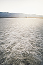 USA, California, Death Valley, Badwater Basin at sunset - EPF00253