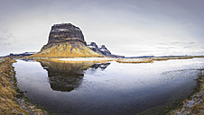 Iceland, view to Lomagnupur - EPF00256