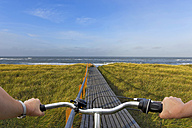 Germany, Sylt, bicycle tour - KLRF00503