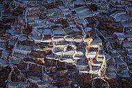 Peru, Andes, Maras, salt ponds - FOF08704