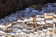 Peru, Andes, Maras, salt ponds - FOF08710