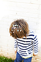 Little boy with confetti in his hair - VABF01012