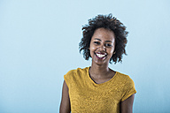Portrait of happy young woman - UUF09776