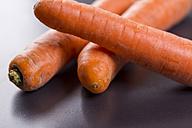 Three carrots, close-up - JUNF00788