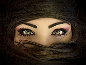 Woman's green eyes - PUF00581