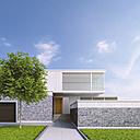 Modern one-family house, 3D Rendering - UWF01108