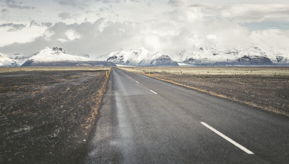 Iceland, empty country road - EPF00311
