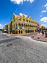 Curacao, Willemstad, Punda, Handelskade, historical building - AM05239