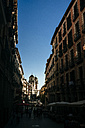 Spain, Madrid, Street De Toledo, with San Isidro Church in the background - KIJF01173