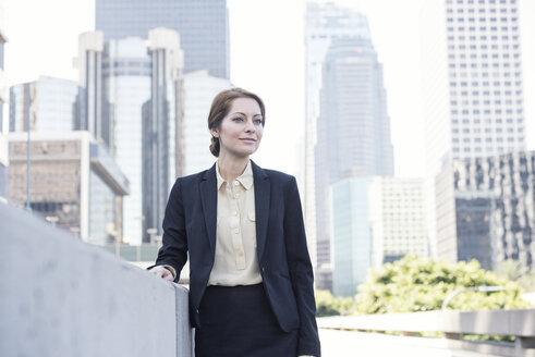 Portrait of confident businesswoman - WESTF22578