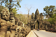 Cambodia, Angkor Wat temple, entrance - REAF00171