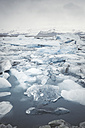 Iceland, view of Joekulsarlon, glacial river lagoon - EPF00324