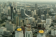 Thailand, Bangkok, cityscape seen from above - PCF00333