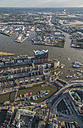 Germany, Hamburg, aerial view of the Elbphilharmonie - PVCF00991