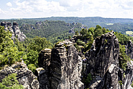 Germany, Saxony, Elbe Sandstone Mountains, Rock formations - LMF00594