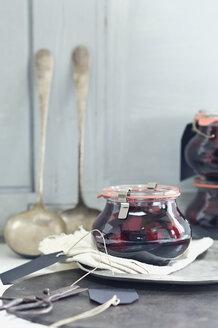 Stewed cherries in jar - ASF06068