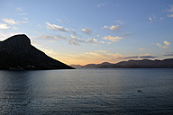 Greece, Kalymnos, Massouri at twilight - LMF00677