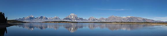 USA, Wyoming, Rocky Mountains, Teton Range, Grand Teton National Park, scenic - FOF08891