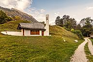 Slovenia, Bovec, Triglav National Park, mountain church - CSTF01260
