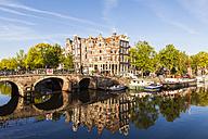 Netherlands, Amsterdam, Brouwersgracht and Prinsengracht - WDF03920
