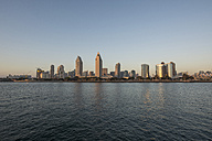 USA, California, skyline of downtown San Diego - LMF00722