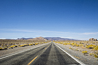 USA, Nevada, empty road - LMF00728