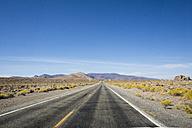 USA, Nevada, empty road - LMF00728