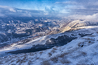 Italy, Marche, Apennines, mountainscape  in winter - LOMF00522