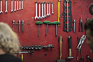 Tools in mechanic workshop - ZEF13015
