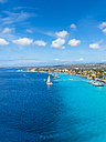 Caribbean, Bonaire, Kralendijk, coast and townscape - AMF05297
