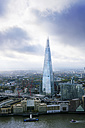 UK, London, cityscape with River Thames and The Shard - BRF01419