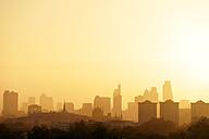 UK, London, skyline in morning backlight - BRF01425
