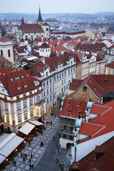 Czechia, Prague, cityscape with Old Town Square - DSGF01511